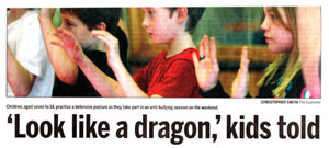 Anti-Bullying article in Brantford Expositor